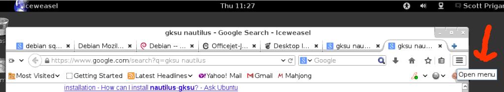 Firefox-Iceweasel_access-menus01